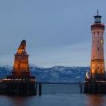 ボーデン湖の島に花開いた中世都市「リンダウ」